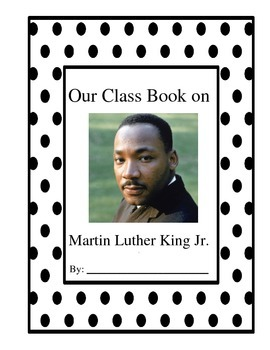 Martin Luther King Jr. Writing Book