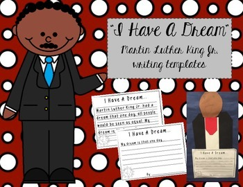 Martin Luther King Jr. Writing Templates