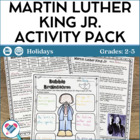 Martin Luther King Jr. Reading and Writing Activities