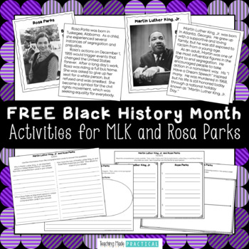 Martin Luther King Jr. Trading Cards and Reading Comprehen