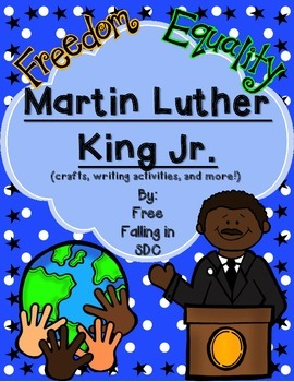 Martin Luther King Jr. (crafts, writing activities and more!)