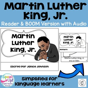 Martin Luther King, Jr {en español} Spanish Reader, Timeli