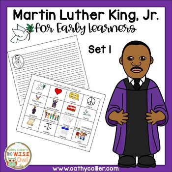 Martin Luther King Jr for Early Learners Set 1