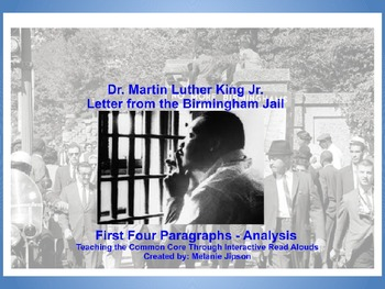 Martin Luther King - Letter From a Birmingham Jail - First