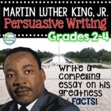 Martin Luther King Jr 3rd Grade ~ Persuasive Writing ~ Opi
