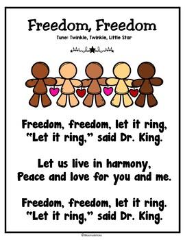 Martin Luther King Poem Freebie