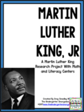 Martin Luther King Research Project! A  Research And Writi