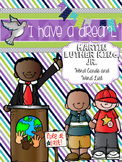Martin Luther King Word List and Word Wall Cards