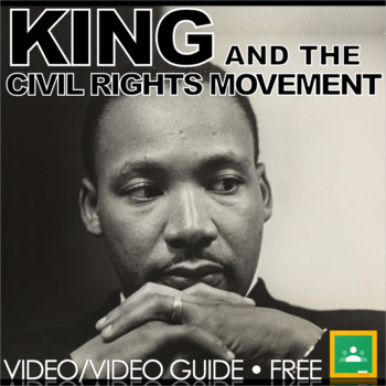 Martin Luther King Jr. Web Video Link & Video Questions Wo
