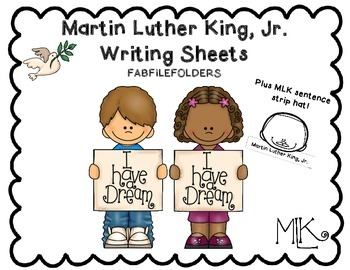 MartinLuther King, Jr. Writing Sheets