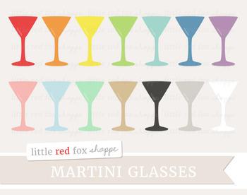 Martini Glass Clipart