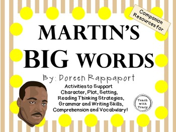 Martin's Big Words by Doreen Rappaport:  A Complete Litera