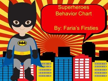 Marvel Superhero Behavior Calendars 2016-2017 and Chart {
