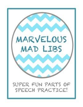 Marvelous Mad Libs