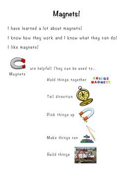 Marvelous Magnets Assessment- Perfect for Early Learners a