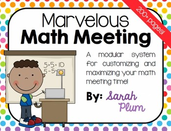Calendar Time & Daily Interactive Math Routine {Marvelous Math Meeting}