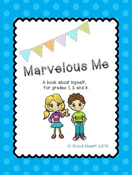 Marvelous Me - An All About Me writing book for the beginn