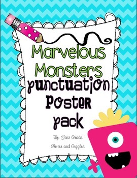 Marvelous Monsters Punctuation Posters