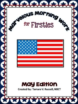 First Grade Morning Work: May Edition {Common Core Aligned}
