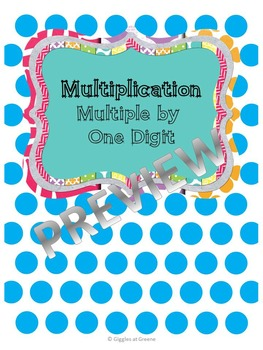 Marvelous Multiplication (Multiple by 1)