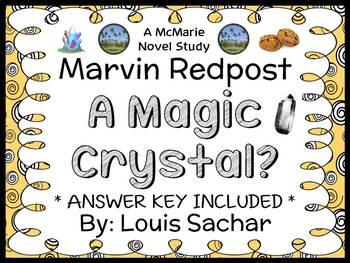 Marvin Redpost: A Magic Crystal? (Sachar) Novel Study / Re