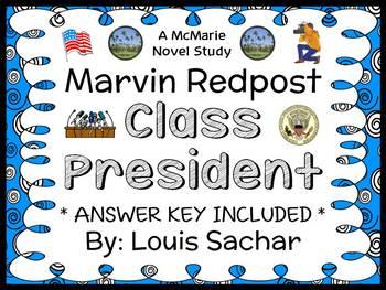 Marvin Redpost: Class President (Louis Sachar) Novel Study