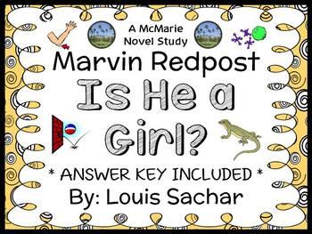 Marvin Redpost: Is He a Girl? (Louis Sachar) Novel Study /