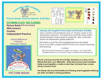 Marvin and Sven Picture Book- valuing differences (Digital