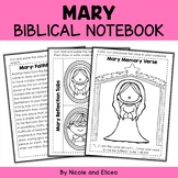 Mary Interacitve Notebook Bible Unit