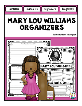 Mary Lou Williams Research Organizers for Projects