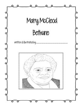 Mary McCleod Bethune Student Book