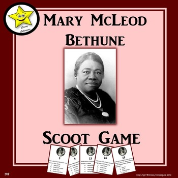 Mary McLeod Bethune Scoot Game