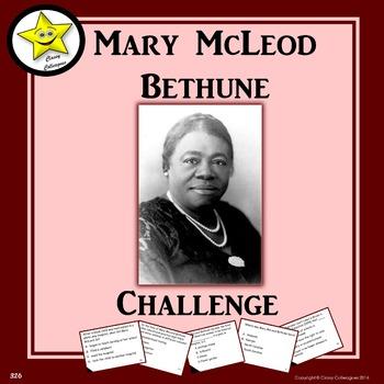 Mary McLeod Bethune Challenge Game