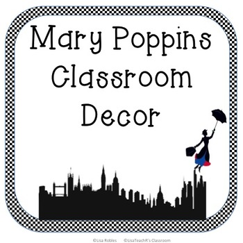 Mary Poppins Classroom Decor Set
