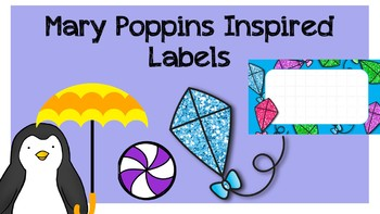 Mary Poppins inspired jpegs