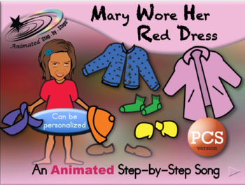 Mary Wore Her Red Dress - Animated Step-by-Step Song - PCS
