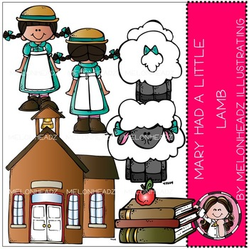 Mary had a Little lamb by Melonheadz COMBO PACK