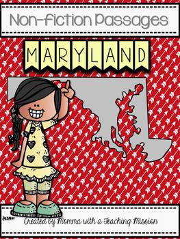 Maryland Non-fiction Passages No Prep Printables