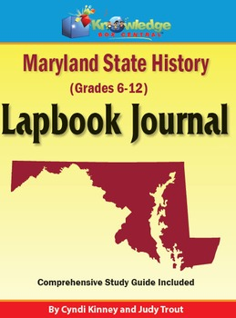Maryland State History Lapbook Journal