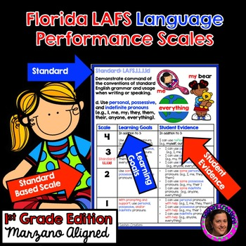 Marzano Aligned Florida LAFS Language Performance Scales 1