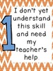 Marzano Learning Scales-Vertical Sized