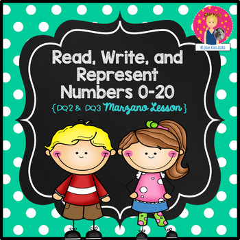 Marzano Lesson - Numbers to 20