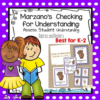 Marzano Student Checking for Understanding