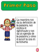Marzano's Six Step Process Posters in Spanish