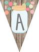 Mason Jar Classroom Theme Birthday Banner and Months