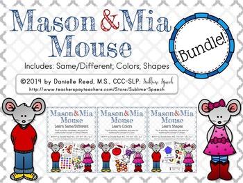 Mason & Mia Mouse: Bundle