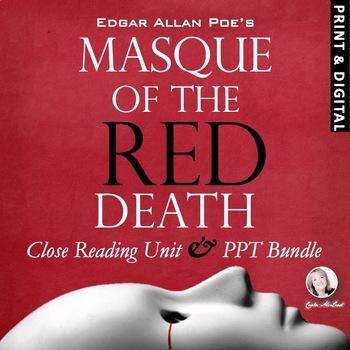 """Masque of the Red Death"" VALUE BUNDLE:Close Reading Unit"