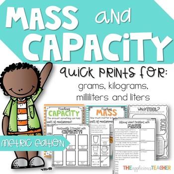 Mass and Capacity: Milliliters, Liters, Grams, and Kilograms