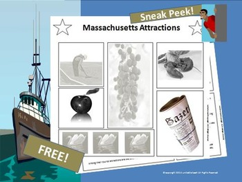 Massachusetts Attractions FREEBIE