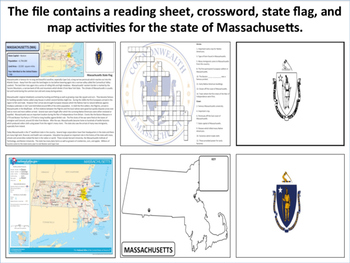 Massachusetts - State Activity Set